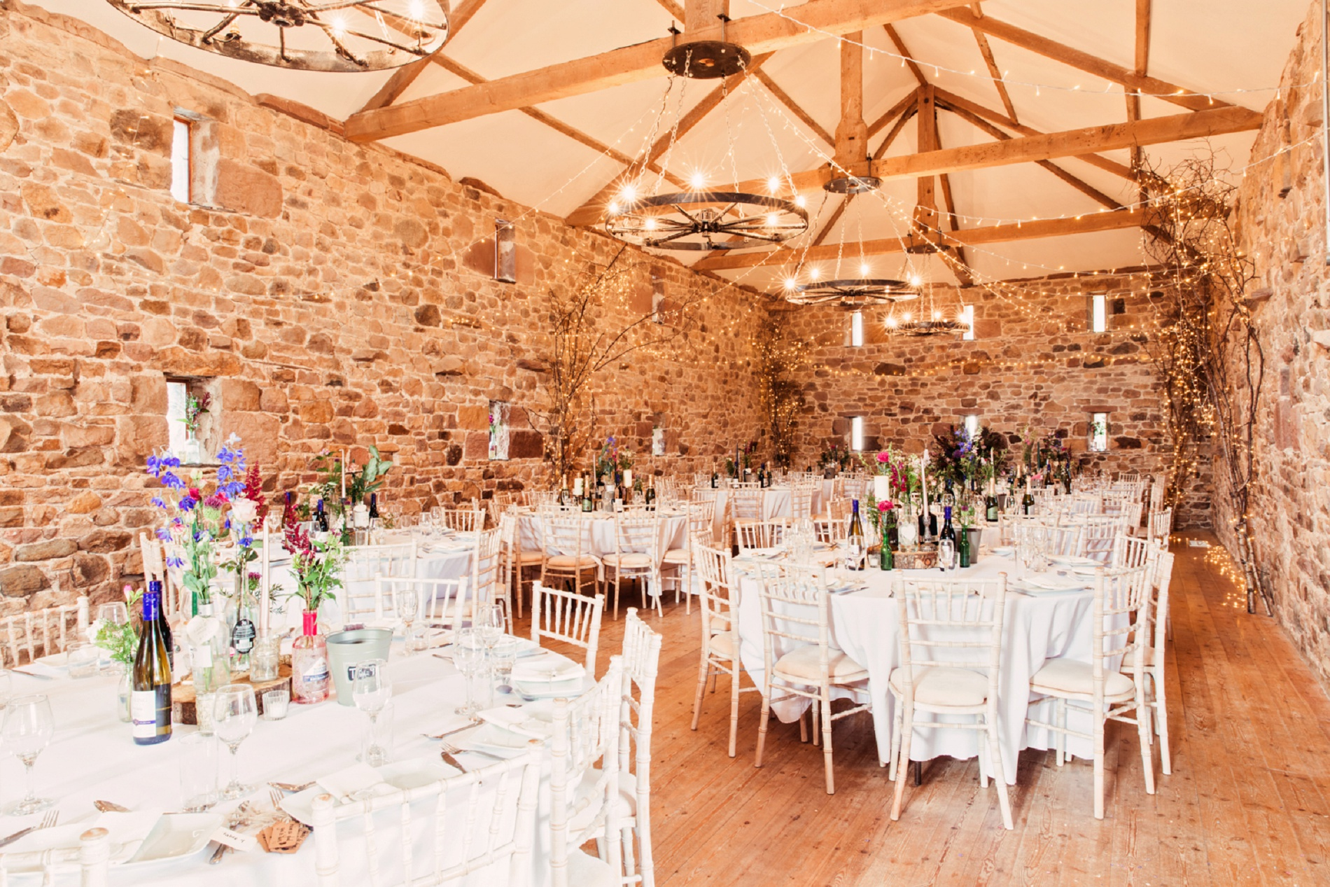 A Stylish Barn Wedding in The Lake District