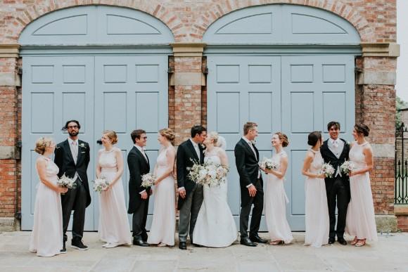 metallics & peonies. a bespoke gown for an elegant wedding at dorfold hall – sarah & greg