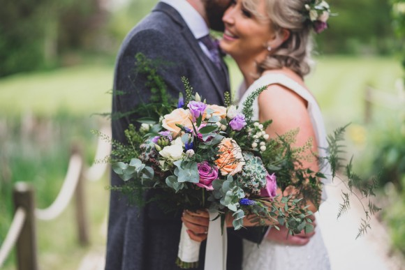 rustic romance. ellis bridals for a super pretty wedding at the oak tree of peover – kim & robbie