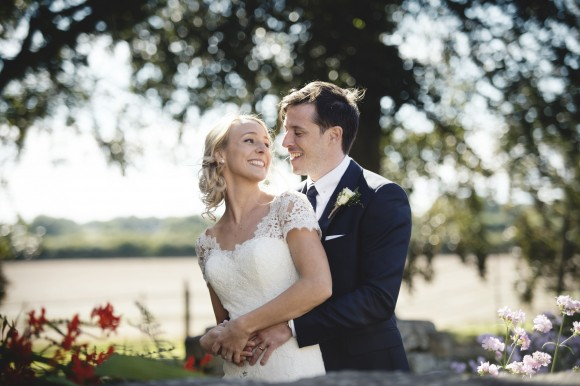 natural beauty: pronovias for a pared back wedding at priory cottages – harriet & mike