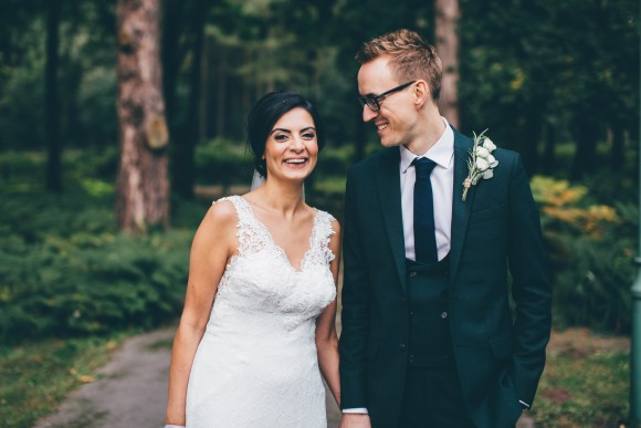 lush botanics. a stylish wedding at the pumping house, nottinghamshire – gemma & kieran