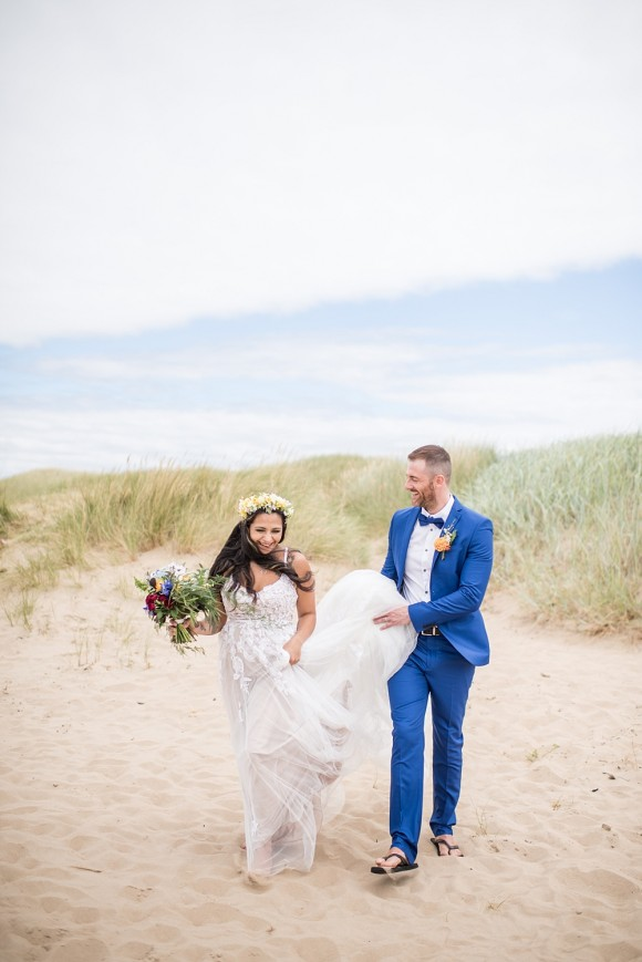 Beach Wedding Shoot (c) Jane Beadnell Photography (21)