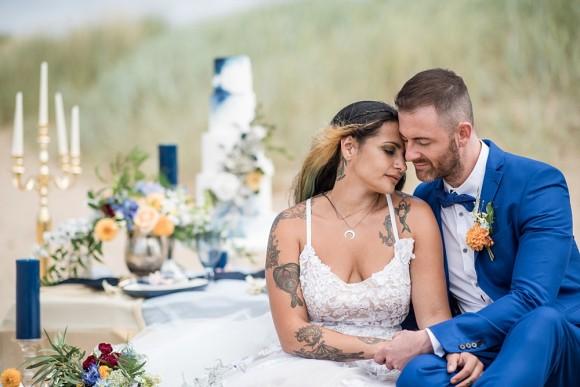 Beach Wedding Shoot (c) Jane Beadnell Photography (32)