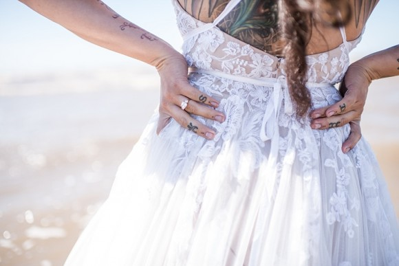 Beach Wedding Shoot (c) Jane Beadnell Photography (42)