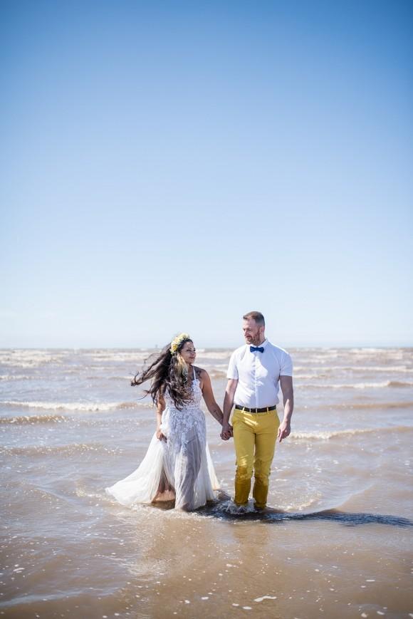 Beach Wedding Shoot (c) Jane Beadnell Photography (45)
