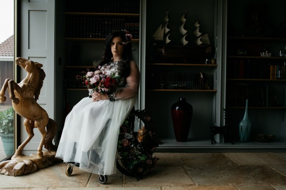 be your own kind of beautiful. an empowering styled bridal shoot in yorkshire