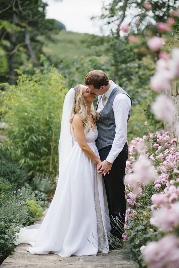 english country garden: rime arodaky for a summer tipi wedding at brinkburn – alex & alex