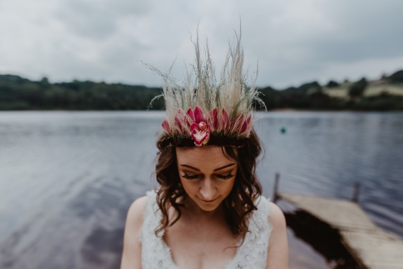 dreaminess at damflask. a fine art wedding styled shoot in the peak district