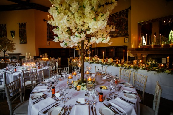 An Elegant Wedding At Peckforton Castle C Sansom Photography 35