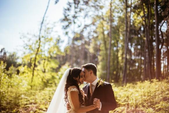 floral romance: an elegant wedding at peckforton castle, cheshire – laura & ash