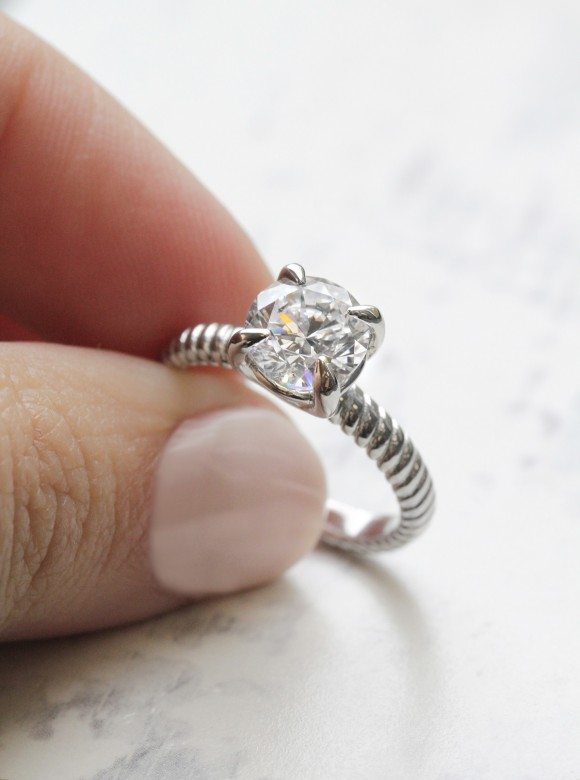 Charming Engagement Ring