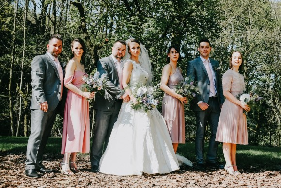 beneath the trees: an outdoor humanist wedding at the woodman inn – rosie & michael