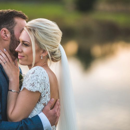 a75c179751 Maggie Sottero for a countryside wedding at Yorkshire Wedding Barn, Richmond  – Joanna & Steven