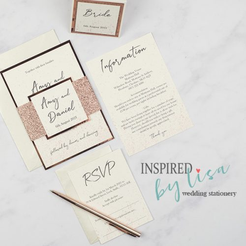 Inspired by Lisa Wedding Stationery