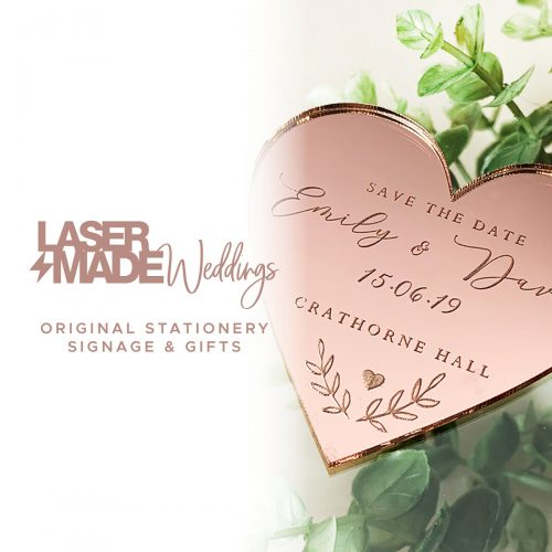 Laser Made Weddings
