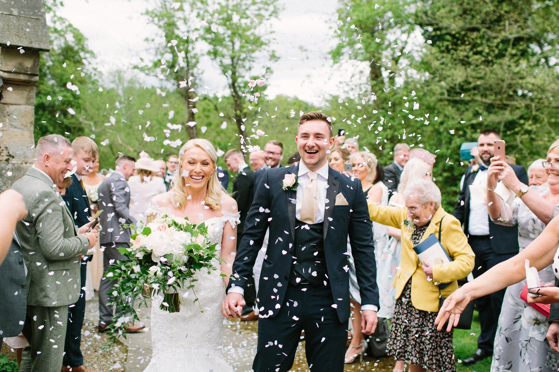 A PRETTY SPRING WEDDING AT NEWTON HALL – KIRSTY & JOSH