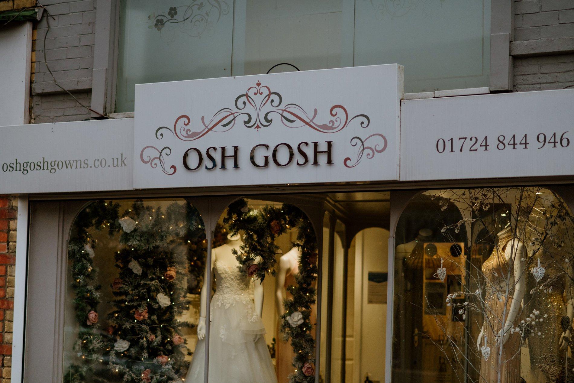 Cinderella Moment: Osh Gosh Gowns