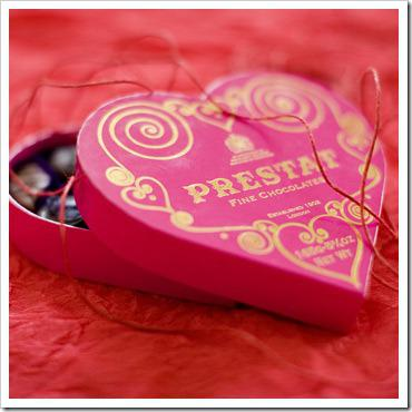 Prestat chocolate heart