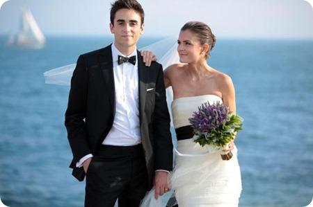 Rhode Island Wedding by Steve De Pino via Style Me Pretty
