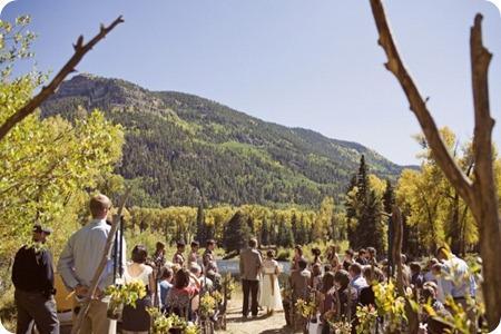 Vintage Mountain Wedding via Ruffled