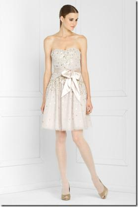 BCGB Sequinned Tulle Dress