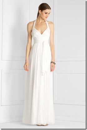 BCGB Silk Halter Gown