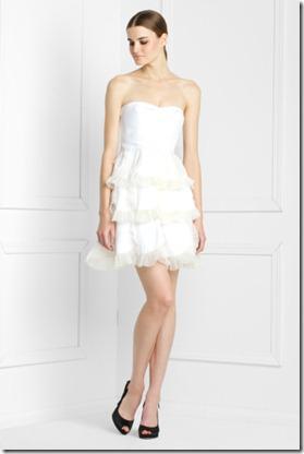 BCGB Tiered Petal Dress
