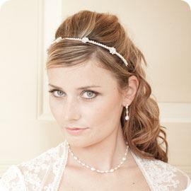 CB Fleur Pearl Bridal Headband