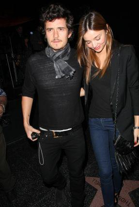 Orlando Bloom Miranda Kerr Wedding. Orlando Bloom and Miranda Kerr