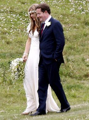 Piers Morgan Wedding