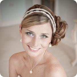 CB Poppy II Vintage Bridal Headband