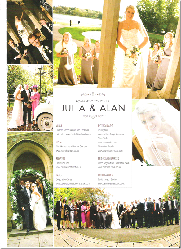 Belle Bridal Magazine - Julia & Alan