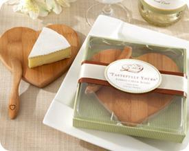 Kate Aspen Bamboo Cheese Board