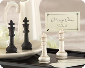 Kate Aspen Check Mate Place Card Holders