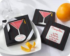 Kate Aspen Cosmopolitan Recipe Coaster