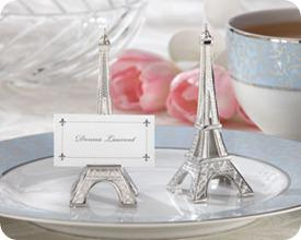 Kate Aspen Eiffel Tower Place Card Holder