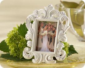 Kate Aspen White baroque frame