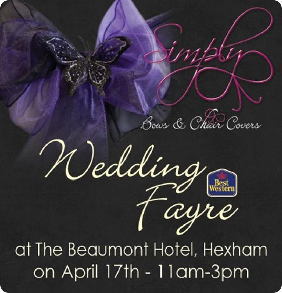 Simply Bows and Chair Covers Wedding Fair
