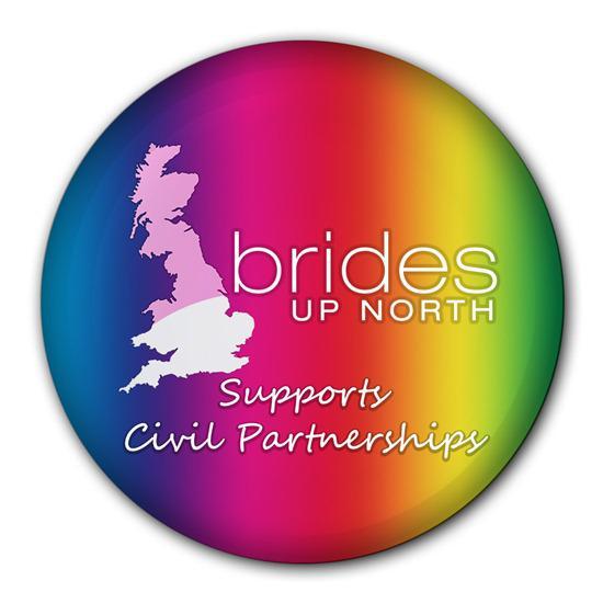 Brides Up North Supports Civil Partnerships Logo