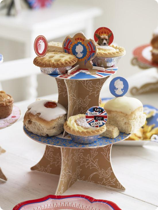 AATN British Street Party Mini Cake Stands