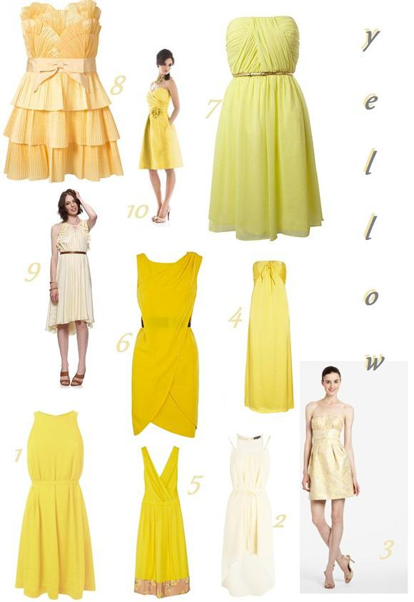 A Bridesmaid Rainbow Yellow