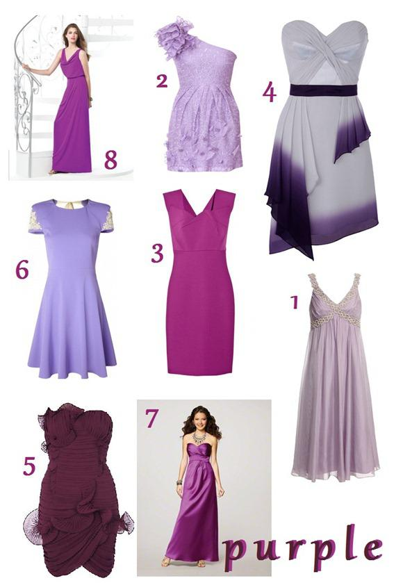 A Bridesmaid Rainbow Purple