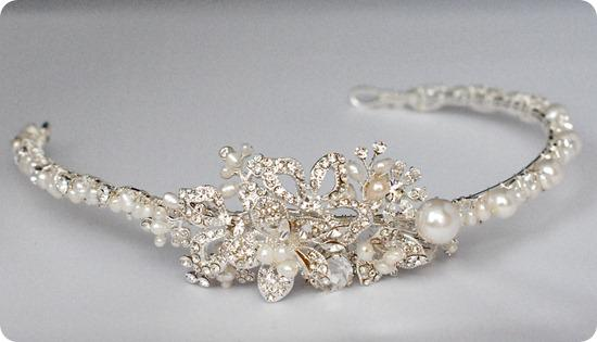By Gina Harmony Side Tiara