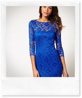 ASOS Lace Bodycon Dress
