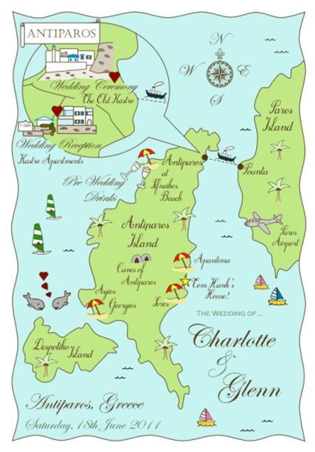 Brides Up North Weddign Blog: Cute Maps