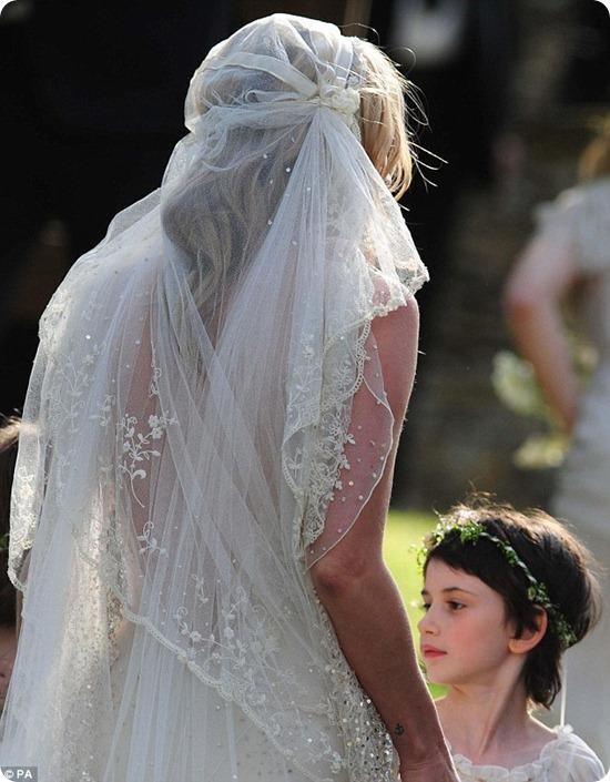 Brides Up North Wedding Blog: Kate Moss and Jamie Hince Wedding