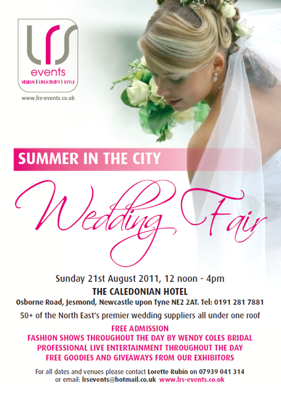 LRS Events Summer In The City Wedding Fair 21 August 2011