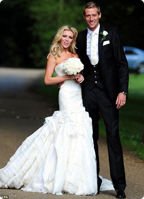 Brides Up North: Abbey Clancey and Peter Crouch Wedding