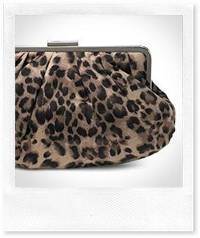 New Look Leopard Print Clutch