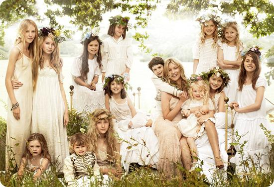 Kate Moss Wedding Photographs By Mario Testino for American Vogue